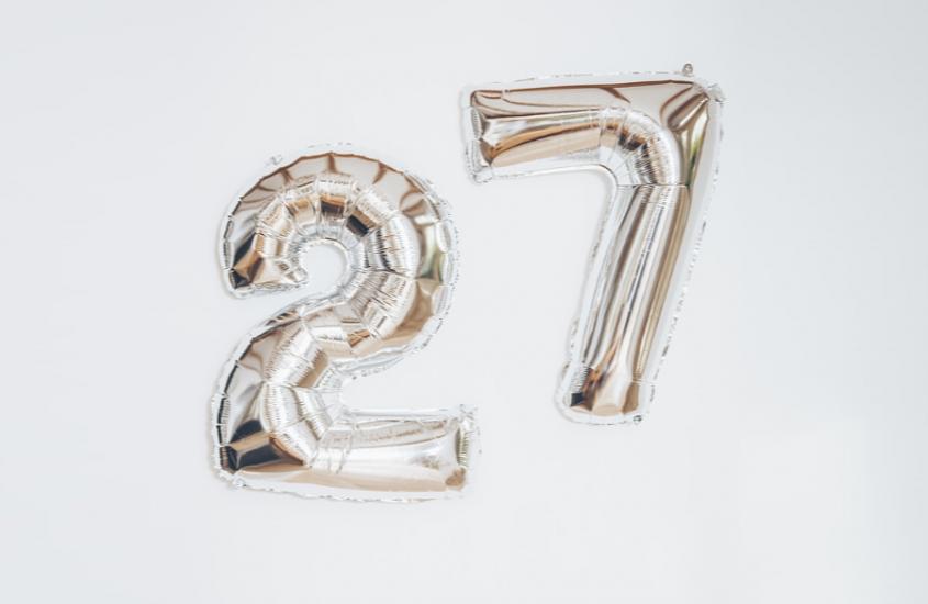 MORNING COFFEE #3: My 27 Years